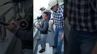Porgy Fishing on the Black Hawk