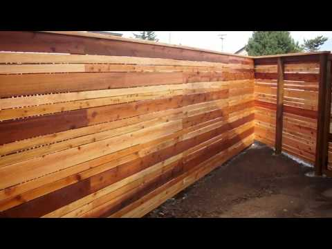 20+2 Cedar Fence Ideas