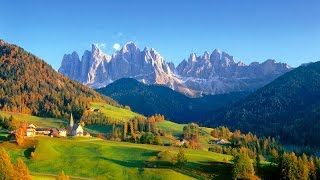 Dolomites  Amazing Val di Funes Santa Maddalena