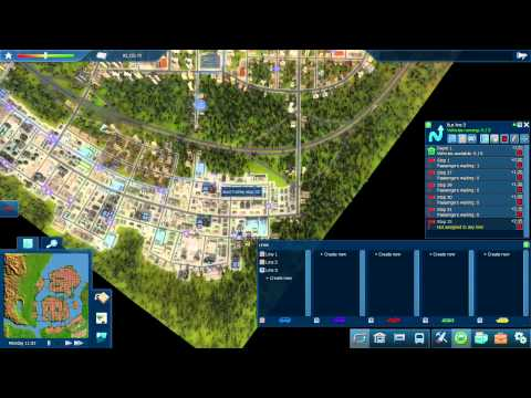 Cities In Motion 2 - Mission 1: Big City Lights - Part 1