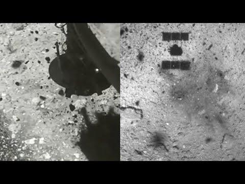 Hayabusa2 touchdown on Asteroid Ryugu