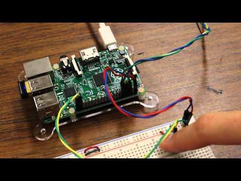 LED that Blinks out IP address for Raspberry Pi using Python