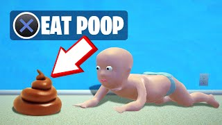 Do NOT EAT POOP As A BABY! (Who's Your Daddy)