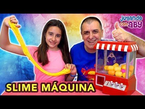 La MÁQUINA decide mi SLIME | ABY