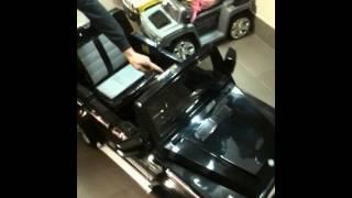 детский электромобиль Rich Toys Mercedes-Bens AMG ML63 обзор