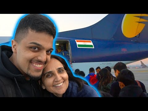 PRIVATE FLIGHT TO INDIA | EP001