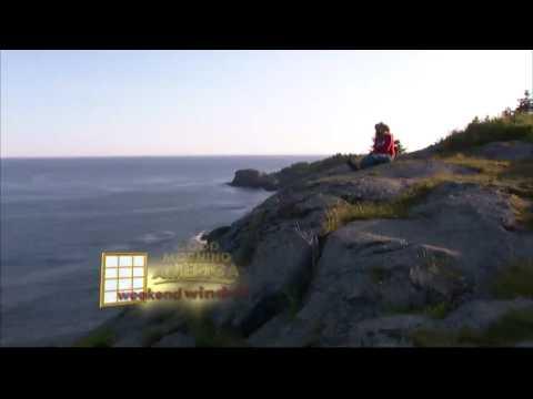 Weekend Window to Monhegan Island, Maine