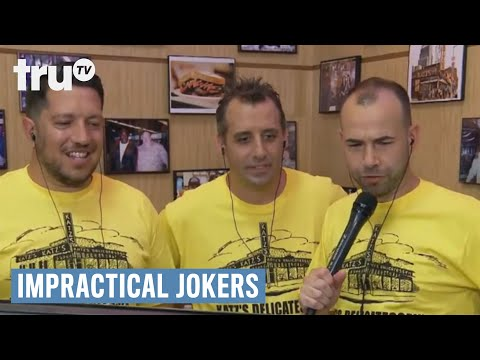 Impractical Jokers - Pranks At The Pastrami Shop