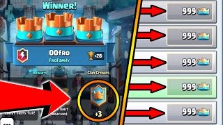 CLASH ROYALE | NEW GLITCH/EXPLOIT TO GET CROWNS! (FASTEST WAY TO GET THE CLAN CHEST)