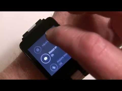 Android Wear walkthrough