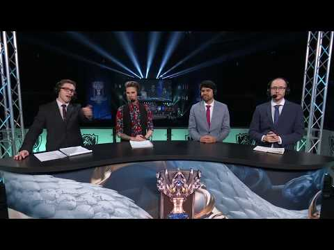 Worlds 2017 Quarter-final Knockout Stage Draw