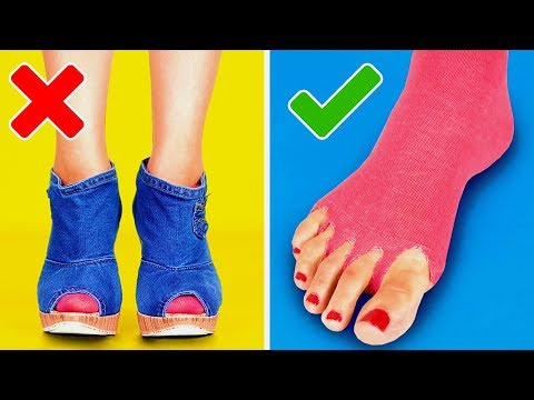 26 GREAT TRICKS FOR YOUR SHOES