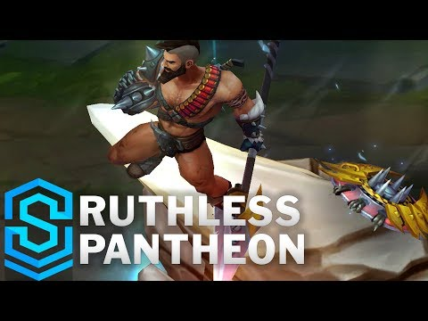 Ruthless Pantheon Skin Spotlight - Pre-Release - League of Legends