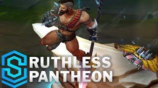 Ruthless Pantheon Skin Spotlight - Pre-Release - League of Legends