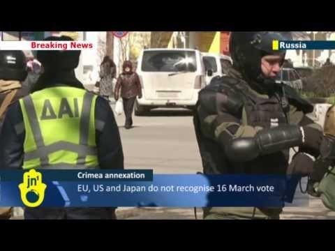 Annexation of Crimea: Putin to address nation on Crimea annexation