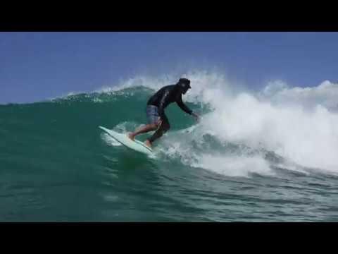 Surfing at Tennis Courts, Ala Moana Park 8-20-2019