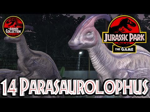 Jurassic Park: The Game  | 14 PARASAUROLOPHUS | NO VOICE | PC HD