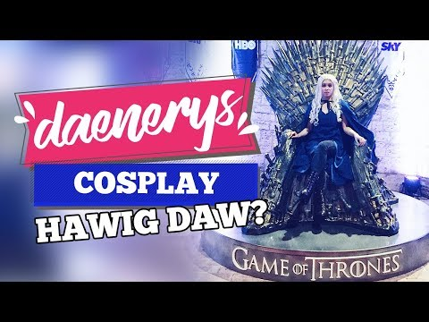 DAENERYS LOOK A LIKE DAW? Asia Pop Comic Con Vlog | Micamicsdeleon (Philippines)