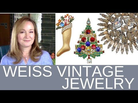 Vintage Costume Jewelry | WEISS