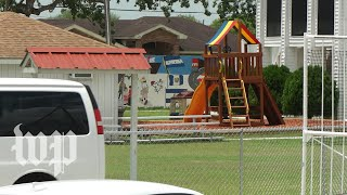 'It shouldn't be happening here': Texas town reacts to a migrant youth shelter in its backyard