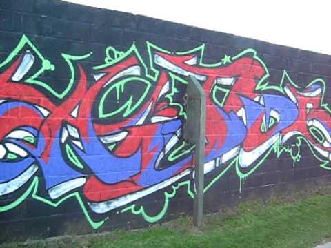 Graffiti Project Llantwit Major Park