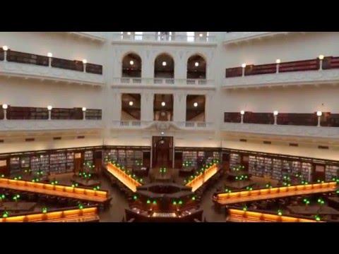 State Library of Victoria - Melbourne Australia