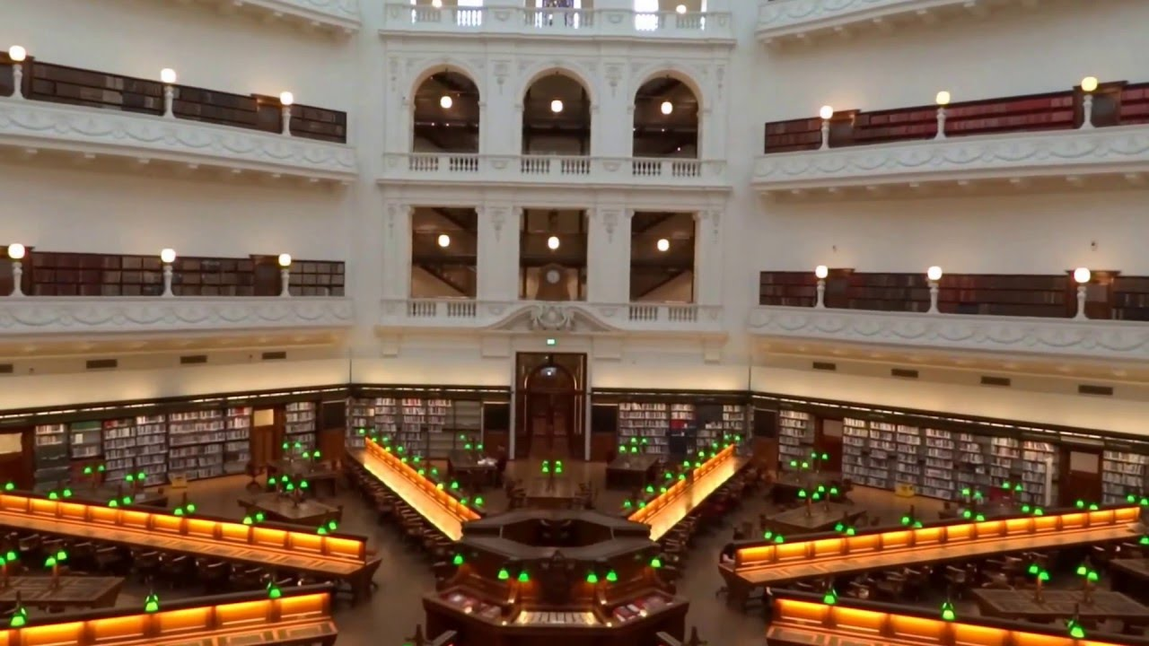 how to go to state library of victoria
