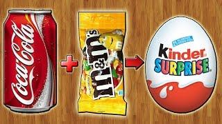 Киндер Сюрприз из Coca-Cola и M&M's(Канал с Олесей: https://www.youtube.com/c/KinderkaraRuol - Как я заработал на покупках в Интернете: https://youtu.be/ABejKE8LKLs - Мой второ..., 2016-02-19T07:34:01.000Z)