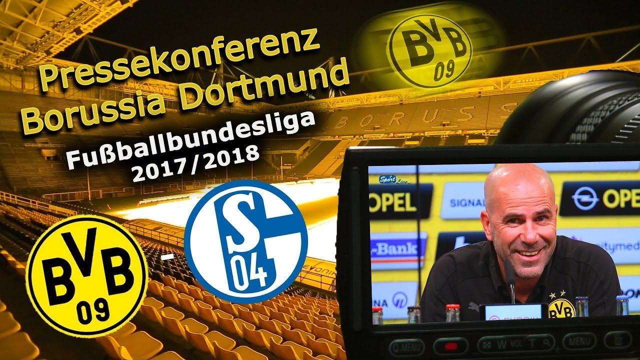 Borussia Dortmund - FC Schalke 04: Pk mit Peter Bosz