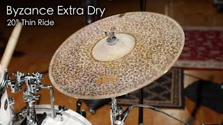 Gambar cover Meinl Cymbals Byzance Extra Dry Rides Morph Demo