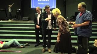 Painful spinal injury and tailbone healing - John mellor Healing Ministry