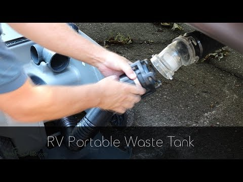 RV Portable Waste Tank