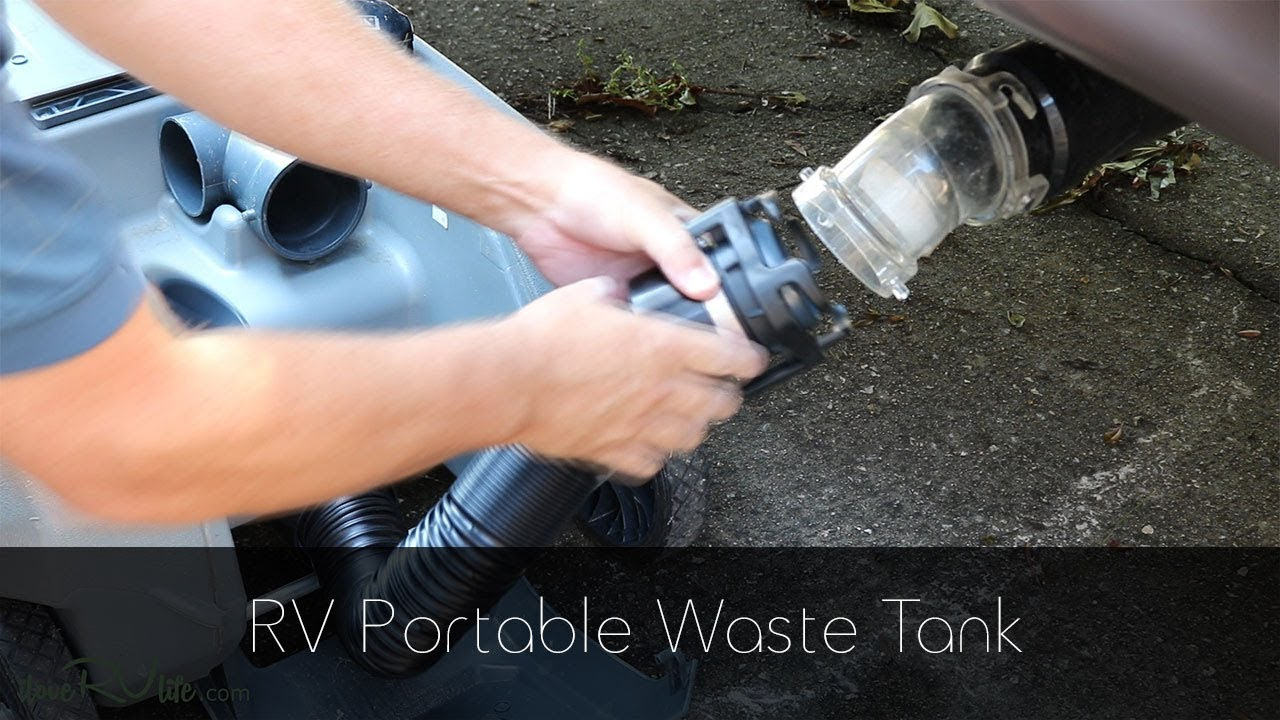 hooking rv to septic tank