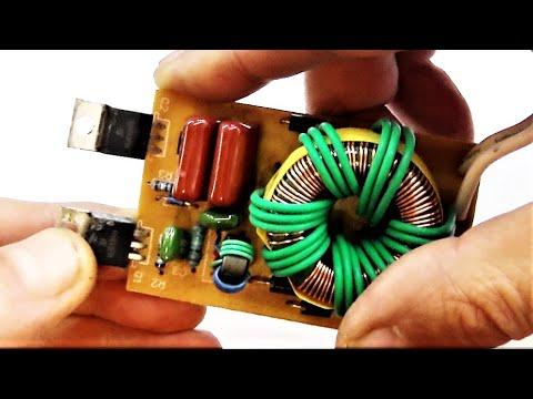 Ставим мосфеты, полевые транзисторы взамен биполярных на электронный трансформатор. Часть 1