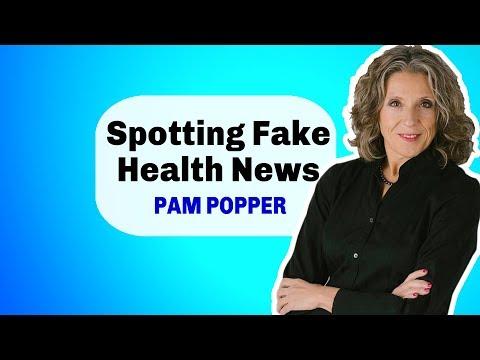 Spotting Fake Health Information – Pam Popper