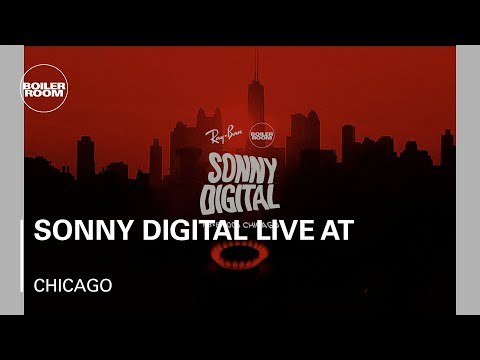 Sonny Digital live at Boiler Room x Ray-Ban 008 in Chicago