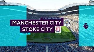 Download Video Manchester City vs Stoke City / Matchweek 8 / Premier League 2017-2018 MP3 3GP MP4