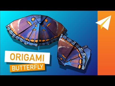 Origami Butterfly That Flies — Learn How to Fold Monarch