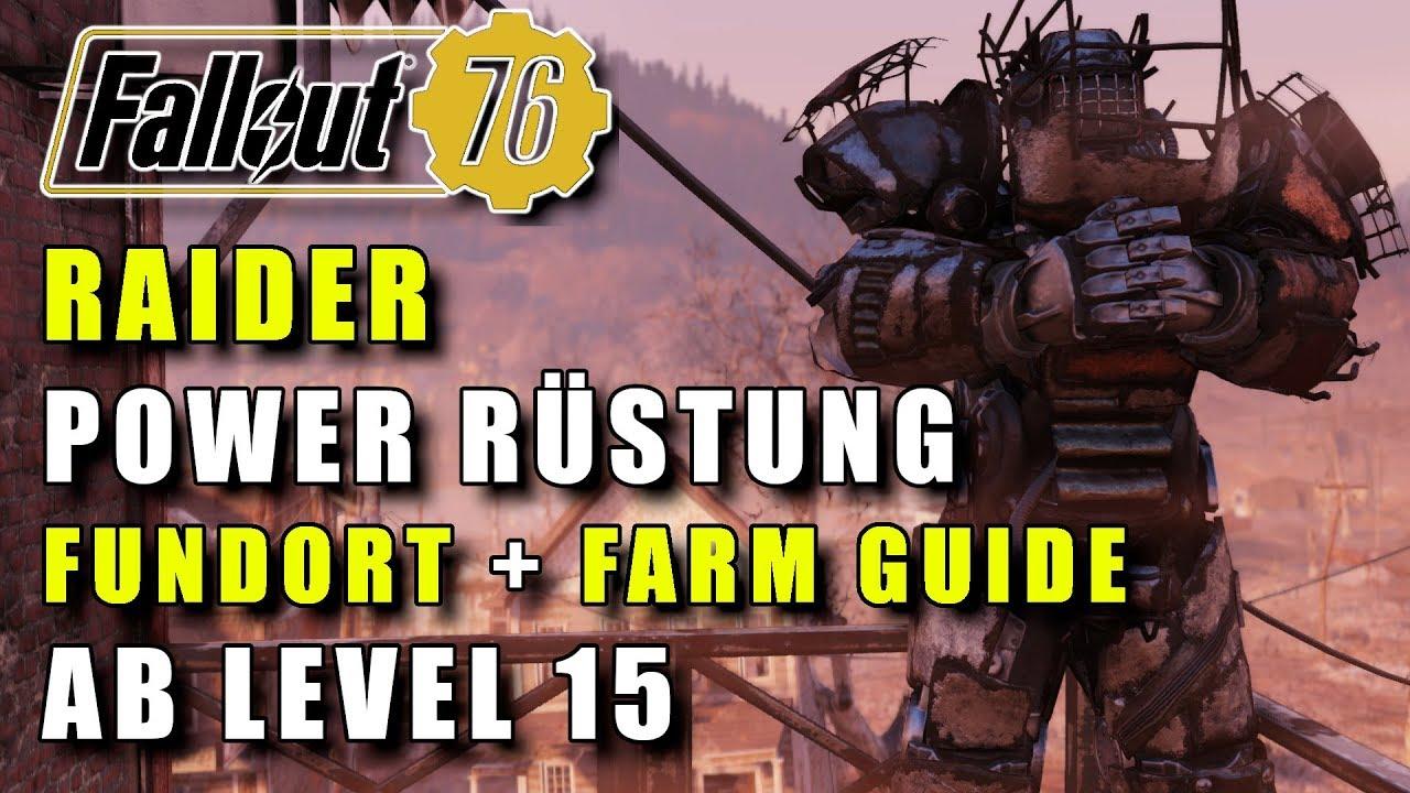 Fallout 76 Komplette Karte.Komplette Raider Power Rüstung Für Level 15 Fundort Farming Guide Fallout 76 Ps4