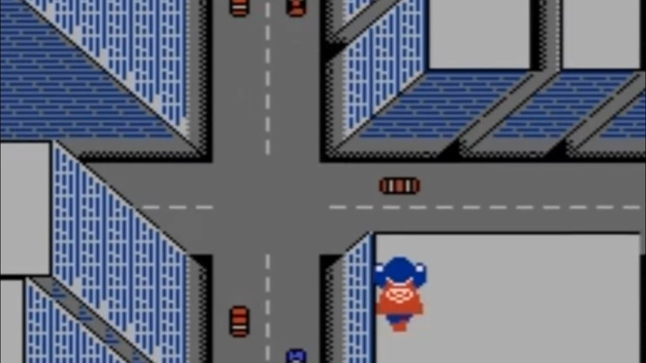 Superman (NES) Playthrough – NintendoComplete