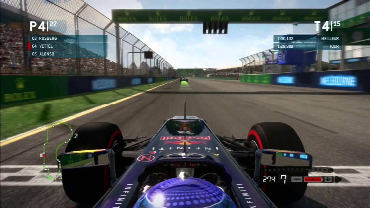 Formule 1 2013 - Grand Prix d'Australie [HD/PS3]