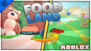 Roblox | Glitch To Toy Land but to Food Land?? | Mining Simulator-H3G