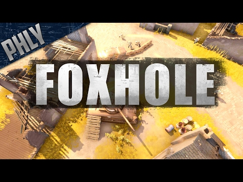 FOXHOLE - Massive 100+ Player WW2 Combat & Logistics (Foxhole Beginners Guide)