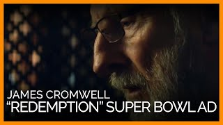 James Cromwell Stars in PETA's 2018 Super Bowl Ad: Redemption