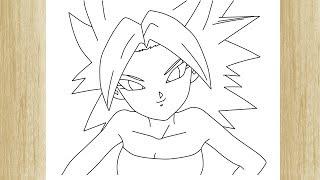 Como Dibujar Chicas Saiyajin De Dragon Ball Kale And Caulifla Con