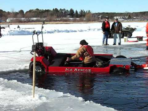 Wilcraft ice rescue youtube for Mn ice fishing regulations