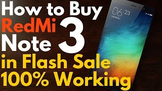 Buy Redmi Note 3 in One Click 100% Working