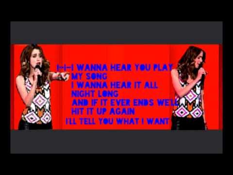 Laura Marano-Play My Song {Lyrics}