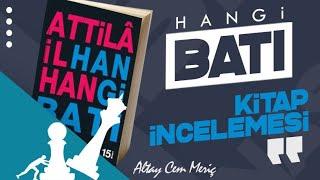 Atilla İlhan - Hangi Batı || Kitap İncelemesi , Attila İlhan Kimdir ? Eserleri .. Kitap Tavsiyeleri