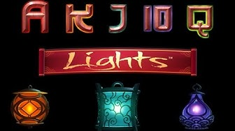 Lights Slot - NetEnt Spiele - 10 Free Spins